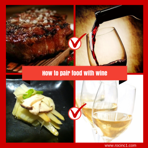 How to pair your food with wine
